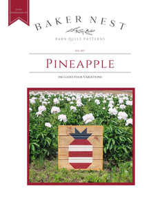 Pineapple Barn Quilt Pattern