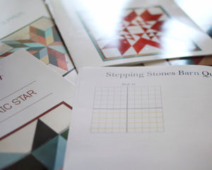 Stepping Stones Barn Quilt Pattern