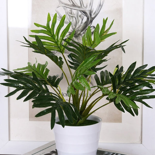 Plante artificielle en pot, 33 cm