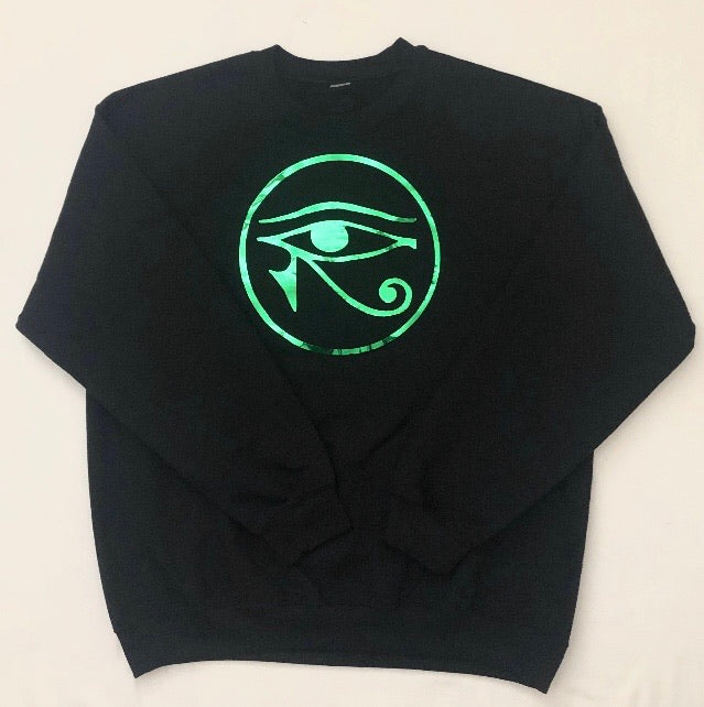 Eye of Ra crew neck sweatshirt