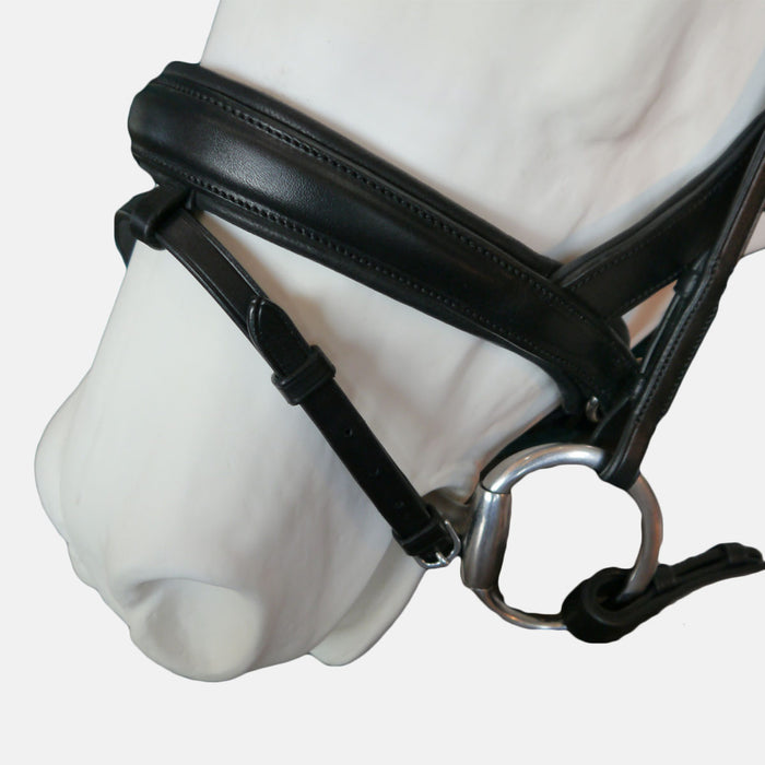 "Tota Comfort System ""Exuma"" Rolled Snaffle Bridle"