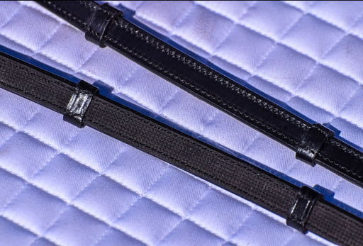Tota Rubber-Lined Reins with Stops