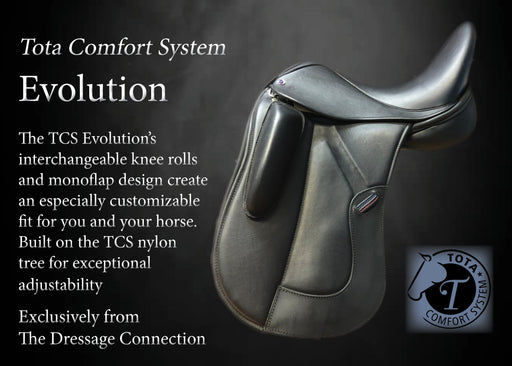 TCS Evolution Dressage Saddle 1st Generation