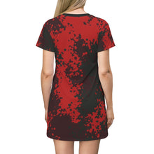 Load image into Gallery viewer, Dress,Camo Style T-shirt Dress