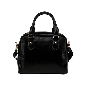 Shoulder Handbags (1634),Black Shoulder Handbag (Model 1634)