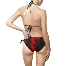 Load image into Gallery viewer, Swimsuit,Red Camo bikini