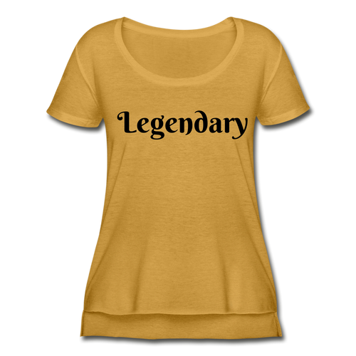 Women's Festival Scoop Neck T-Shirt,Legendary Festive Scoop Neck T-shirt