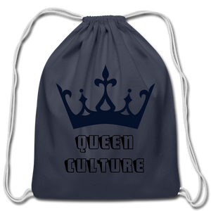 Cotton Drawstring Bag,Queen Culture Cotton Drawstring Bag