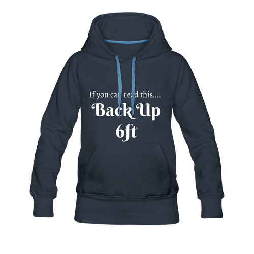 Back up Hoodie - navy