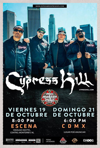 CYPRESS HILL  |  SUNDAY, OCTOBER 21ST