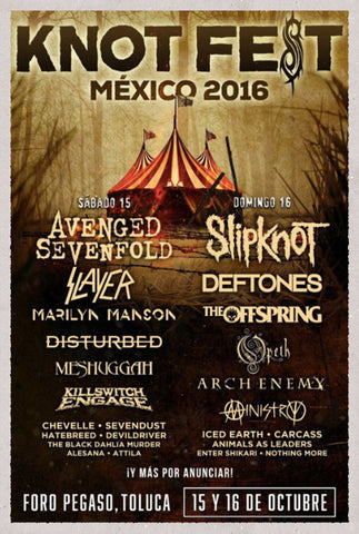 KNOTFEST MEXICO 2016