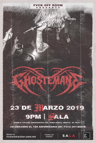 GHOSTEMANE        |            SATURDAY, MARCH 23RD