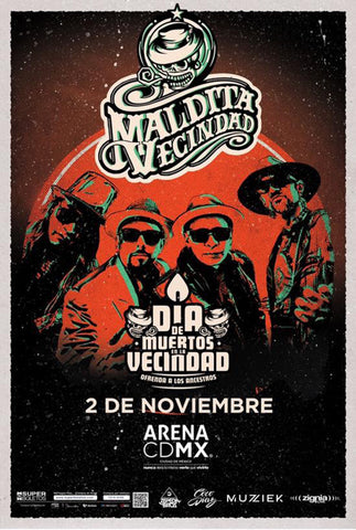 MALDITA VECINDAD Y LOS HIJOS DEL 5TO PATIO    |    SATURDAY,  NOVEMBER 2ND