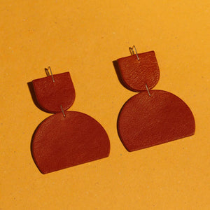Petra Leather Earrings