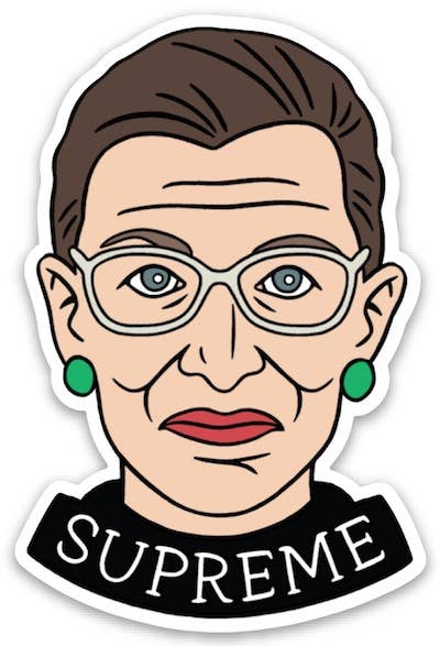 RBG Supreme Die Cut Sticker