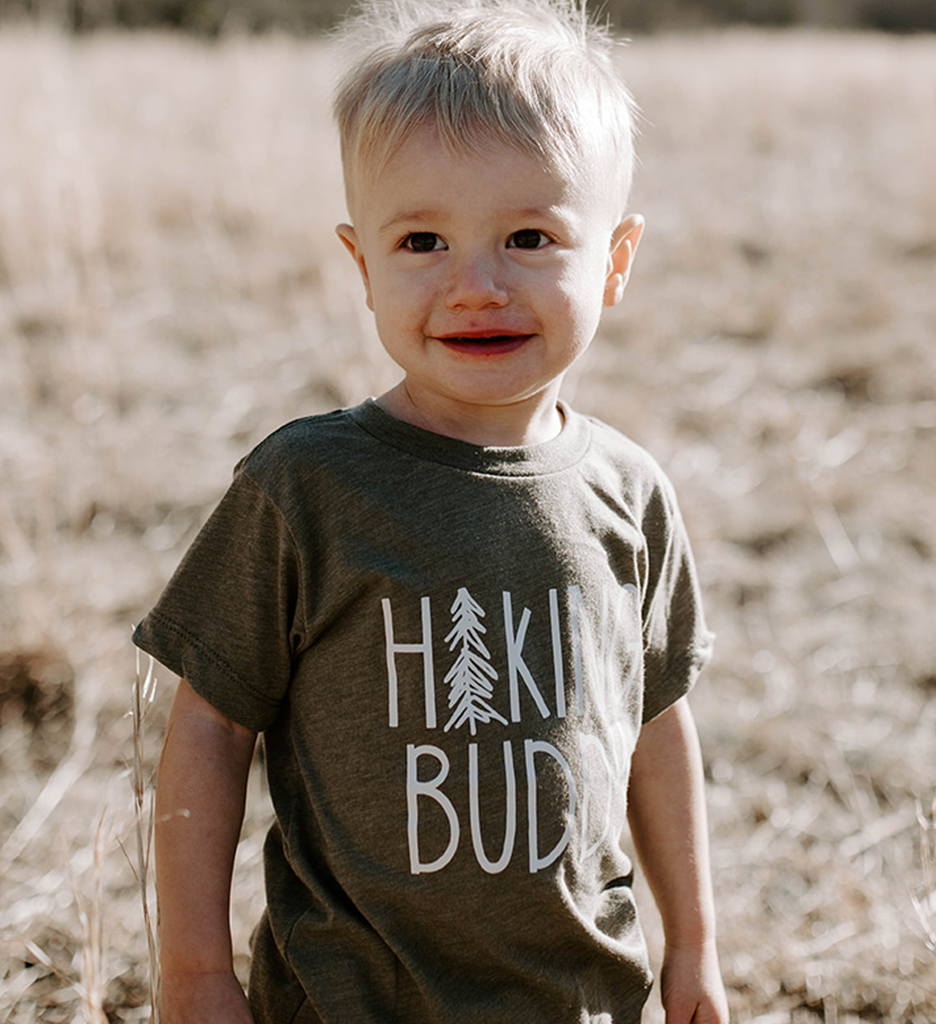 Made of Mountains - Hiking Buddy Tee