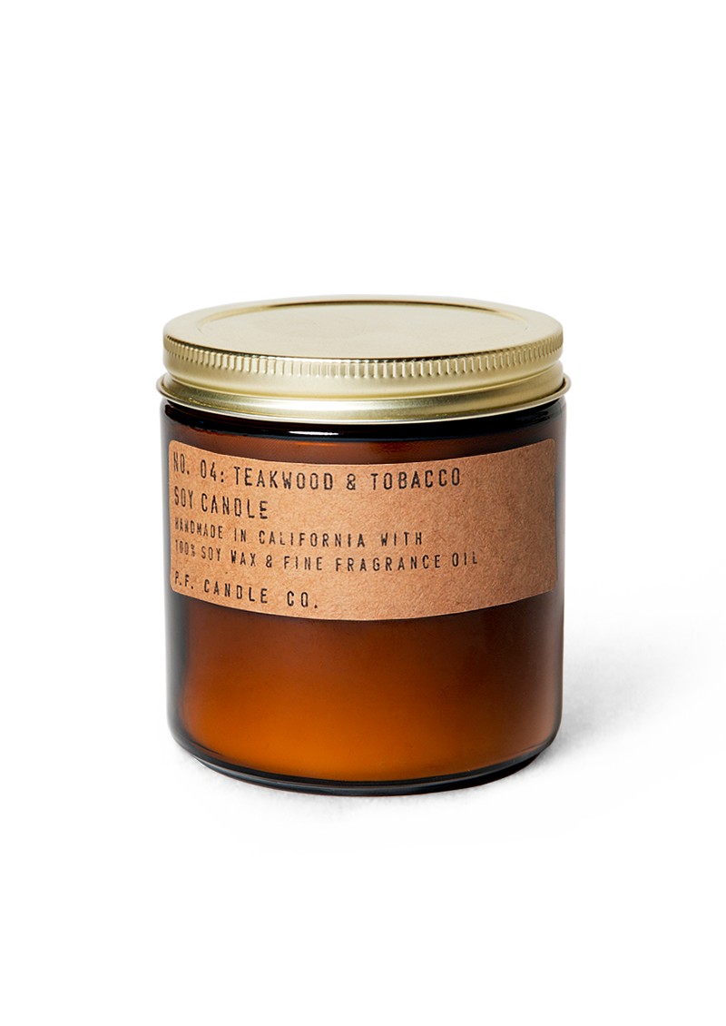 Teakwood & Tobacco - 12.5 oz Large Soy Candle