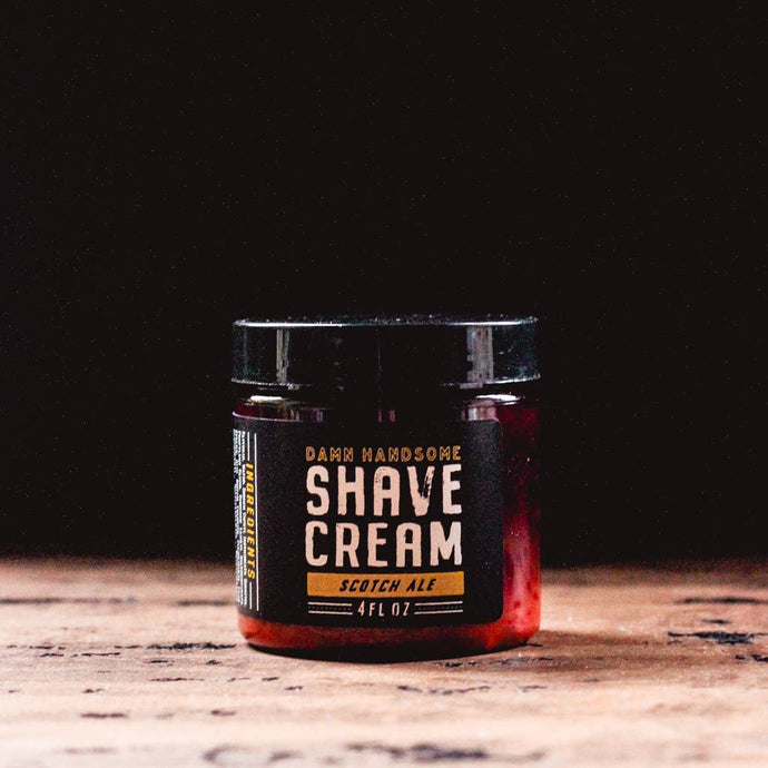 Scotch Ale Shave Cream