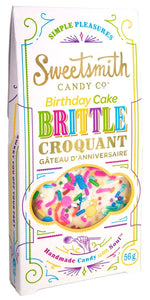 Sweetsmith Candy Co - Vanilla Birthday Cake Brittle