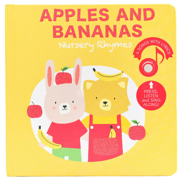 Cali's Books - Apples and Bananas Nursery Rhymes