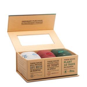 Socks that Fight Poverty - Gift Box Set