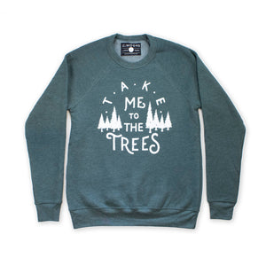 Moore Collection - The Trees Crew Neck Sweatshirt