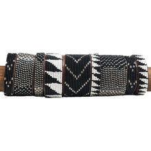 Load image into Gallery viewer, Swahili Coast - Black & Silver Cuff Collection