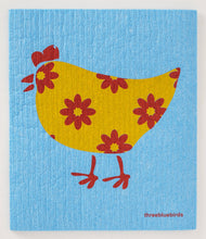 Load image into Gallery viewer, Three Bluebirds Swedish Dishcloths