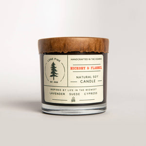 American Heritage Brands - Hickory & Flannel Soy Candle