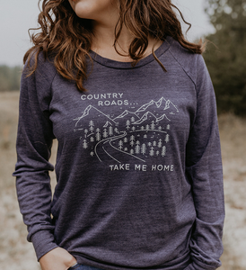 Made of Mountains - Country Roads Pullover