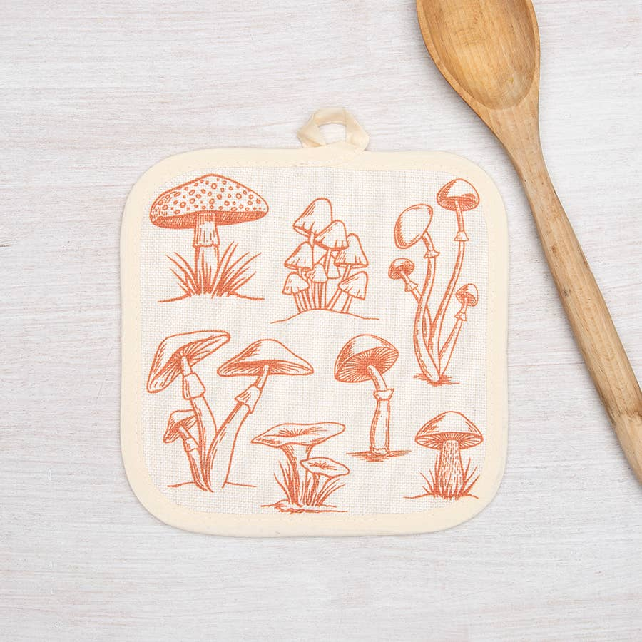 Counter Couture - Mushroom Pot Holder