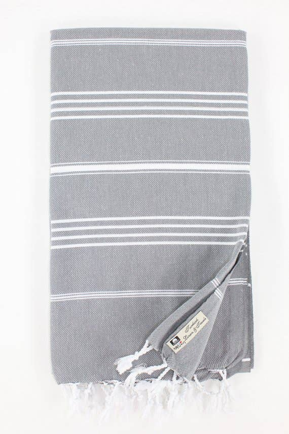 Premium Turkish Classic Striped Peshtemal Towel