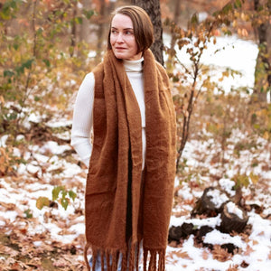 Fringe Cloud Scarf Collection