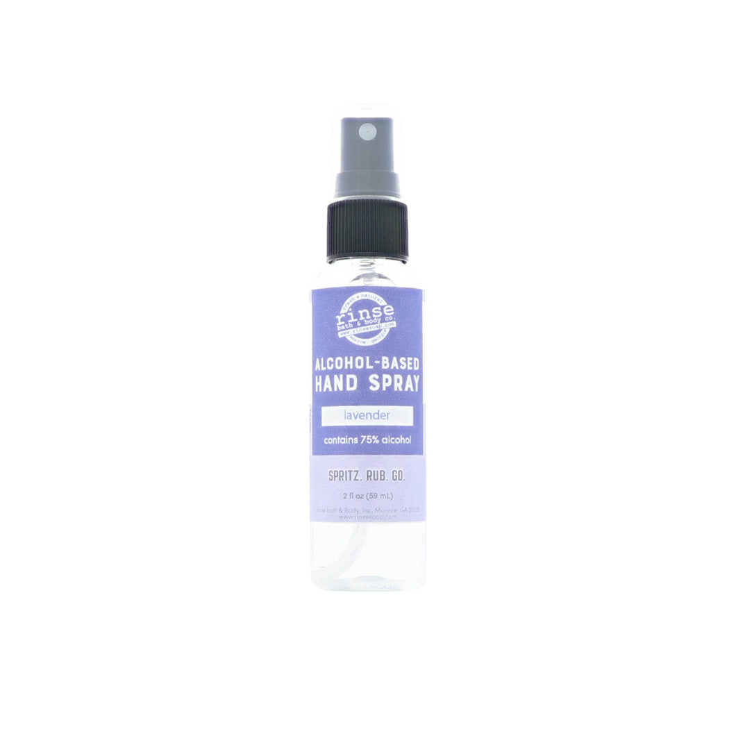 Alcohol-Based Hand Spray - Lavender