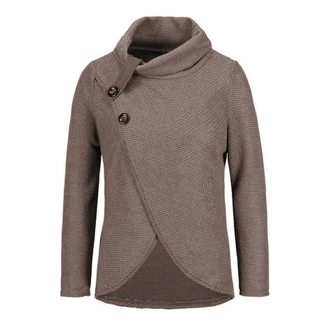 Image of Long Sleeve Knitted Pullover