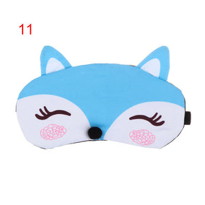 Cute Cartoon Fox 3D Sleep Mask