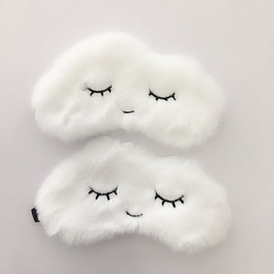 Plush Cartoon Cloud Eye Mask