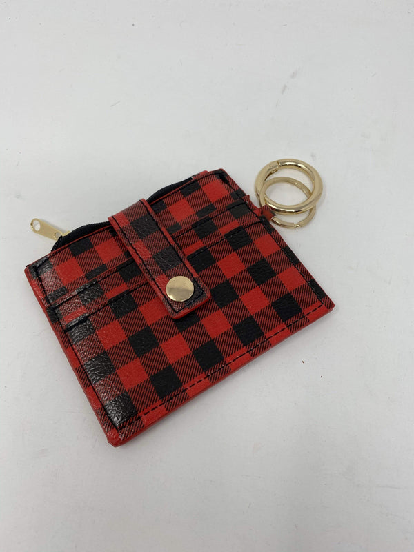 2unic Accessories Red Perfect Plaid Coin Purse