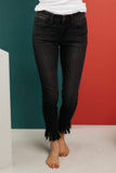 Ave Shops Womens A Shred Of Confidence Black Jeans by Judy Blue