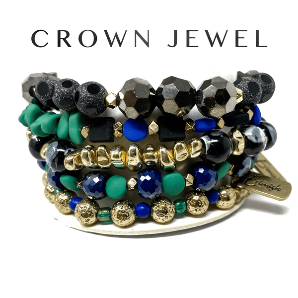 Erimish jewelry Crown Jewel Erimish 5 Stack Extended Bracelets