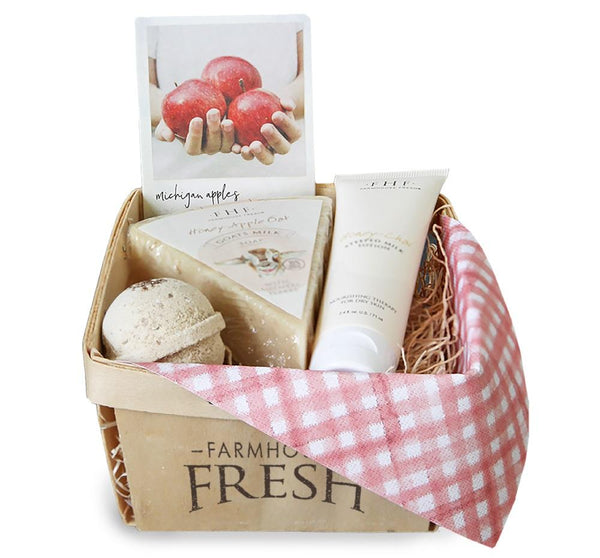 Farmhouse Fresh Beauty FarmHouse Fresh Apple and Lavender Harvest Gift Baskets