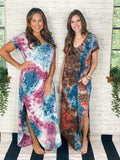 Gee Gee Dress Soft As Butter Tie Dye Maxi Dress