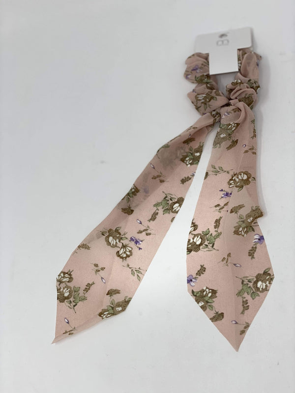 Joia Trading Accessories Blush Tie a Ribbon Hair Ties