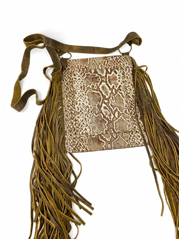Keep It Gypsy Bag Leather Fringe Tonya Crossbody