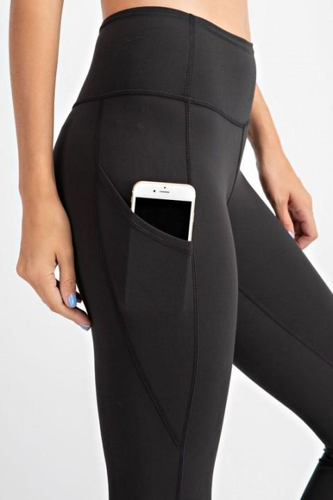 Rae Mode bottoms Black / S Capri Yoga Leggings
