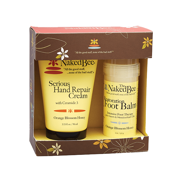 The Naked Bee Beauty The Naked Bee Hand & Feet Gift Set