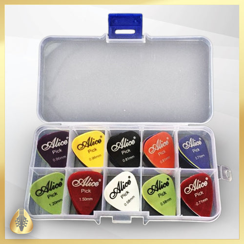 30 guitar picks, comes with special collectors box - Tommy Cat Shop