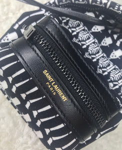 "Saint Laurent ""Hunting Toy"" Backpack Keychain"
