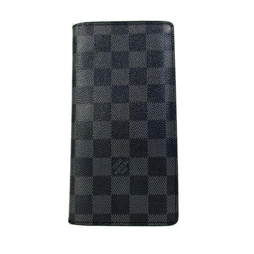 Louis Vuitton Damier Graphite Long Wallet