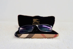Burberry Check Detail Glasses - Non Prescription